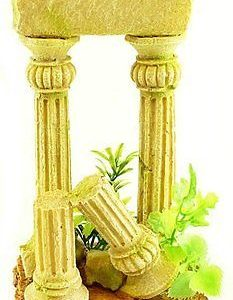 Twin Column Aquarium Ornament