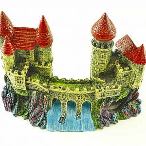 Castle with Weir Aquarium Ornament