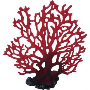 Red Fern Coral Artificial Aquarium Ornament