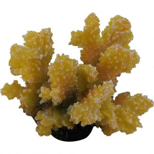 Yellow Marine Coral Artificial Decoration