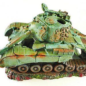 Battle Tank Aquarium Ornament