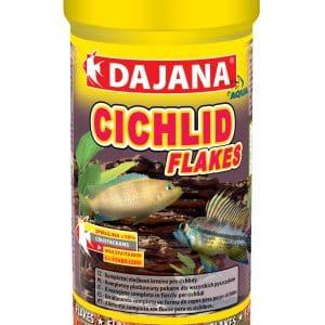 Cichlid Flakes Fish Food 3.4 Fl Oz 100ml 20g