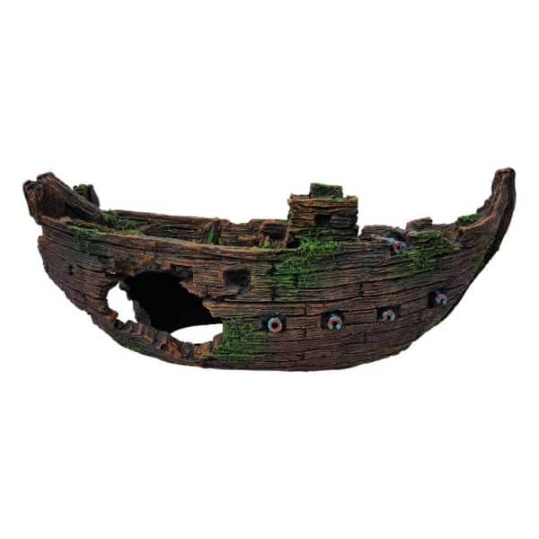 Sunken Galleon Aquarium Ornament