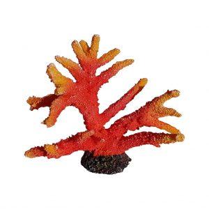 Red Stag Coral Aquarium Decor
