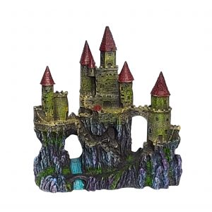 Featured Products, Castle Aquarium Ornament With Three Towers