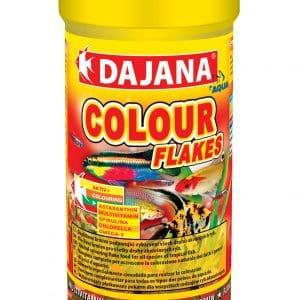 Color Flakes Fish Food 8.5 Fl Oz 250ml/50g