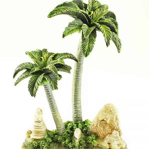 Palm Tree Aquarium Ornament