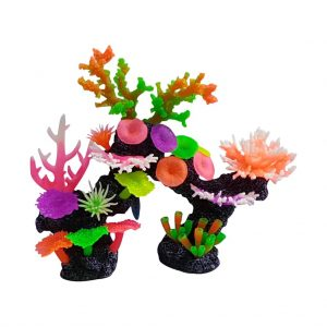 Aquarium Ornaments, Bright Artificial Coral Display