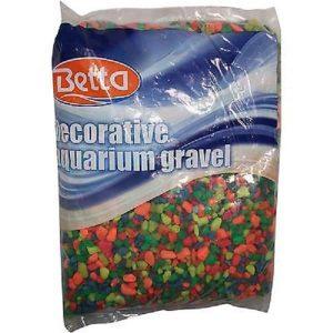 Betta Neon Rainbow Aquarium Gravel 5lbs