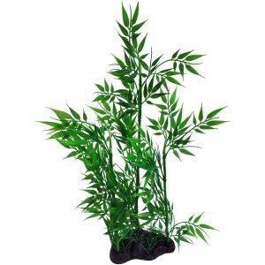 Green Bamboo Aquarium Plant 15 Inch