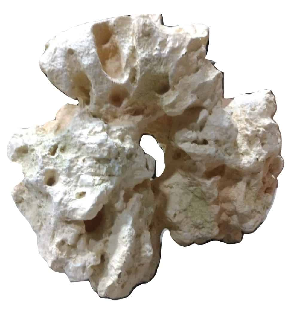 XL Large White Rock Artificial Aquarium Decor