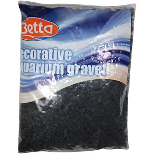Jet Black Aquarium Gravel 25lbs