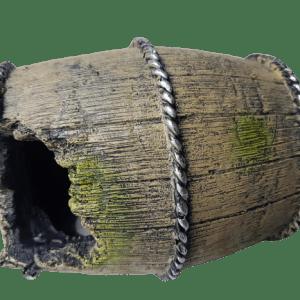 Betta Broken Barrel Aquarium Ornament