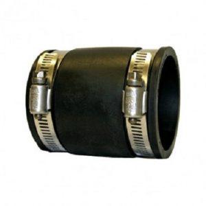 Flexible 3'' PVC Straight Connector