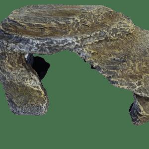Gray Stone Cave, Artificial Aquarium Decoration