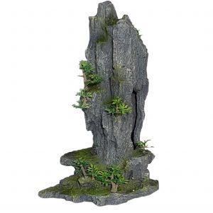 Rock Peak With Plant