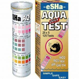 eSHA Aqua Check Test Kit, Aquarium Water Test Strips