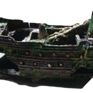 Pirate Galleon Ship Aquarium Ornament