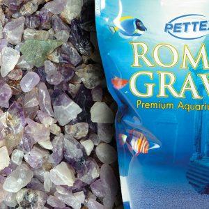 Pettex Natural Amethyst 4.4lb Aquarium Gravel