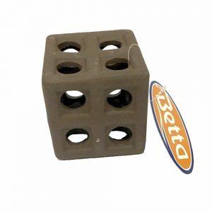 Betta Breeding Block Cave Ceramic Cube